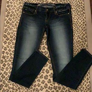 EXPRESS Zelda Slim Fit Ultra Low Rise Jeans 4R